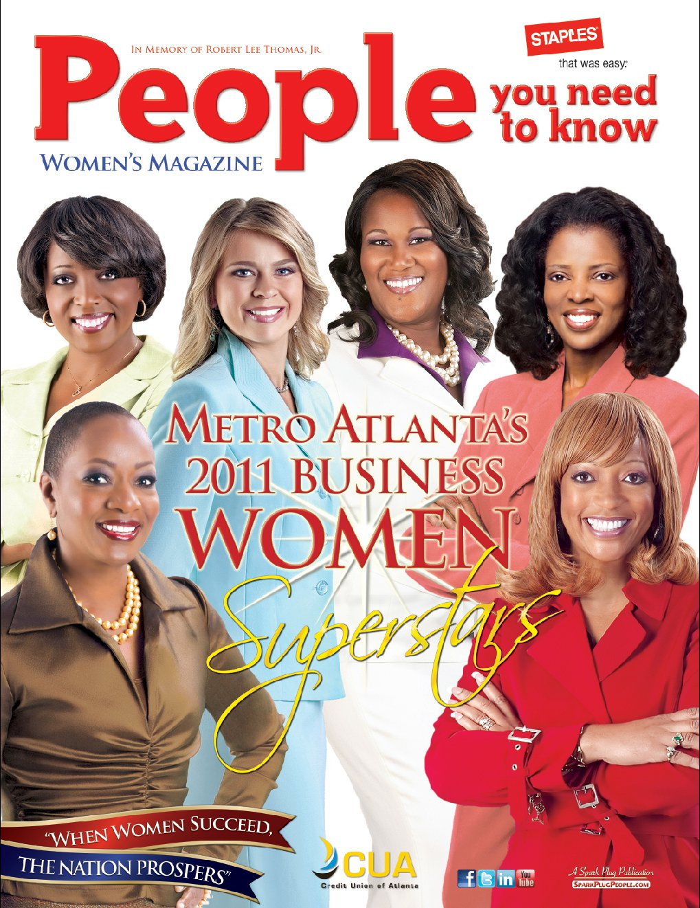 People You Need to Know Women's Magazine cover design by Instudio E