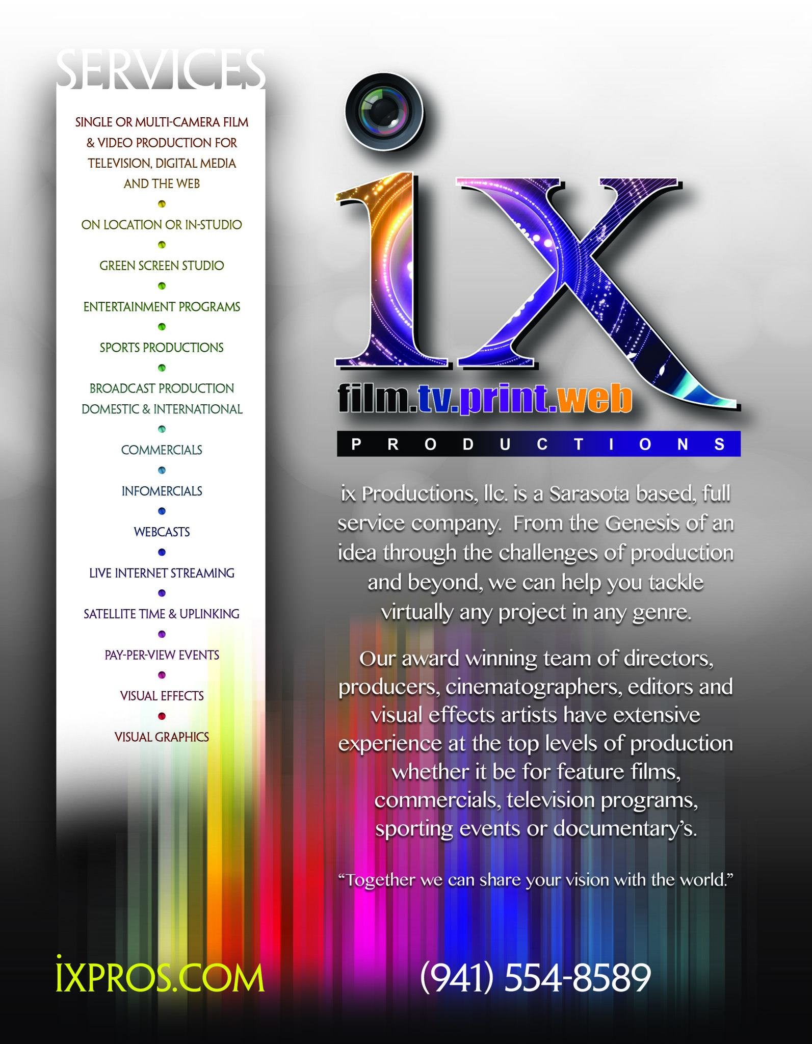 IXpros flyer design by Instudio E